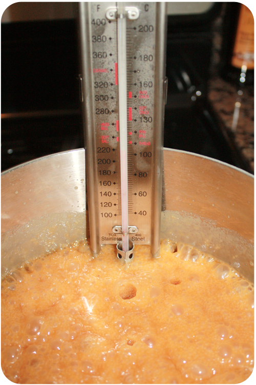 add candy thermometer