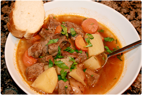 recipe reco: beef stew with beer and paprika | you're so martha