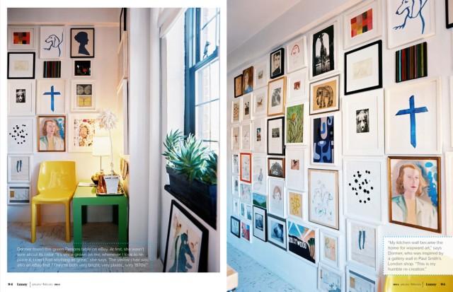 lonny gallery wall