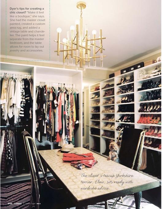 lonny closet