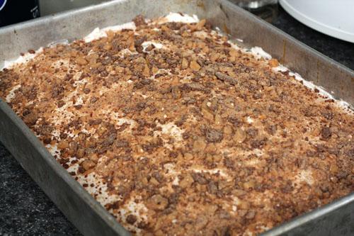caramel heath cake