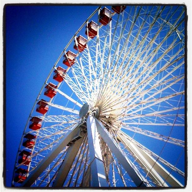 ferris wheel lomo