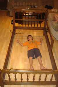 kid not included bed