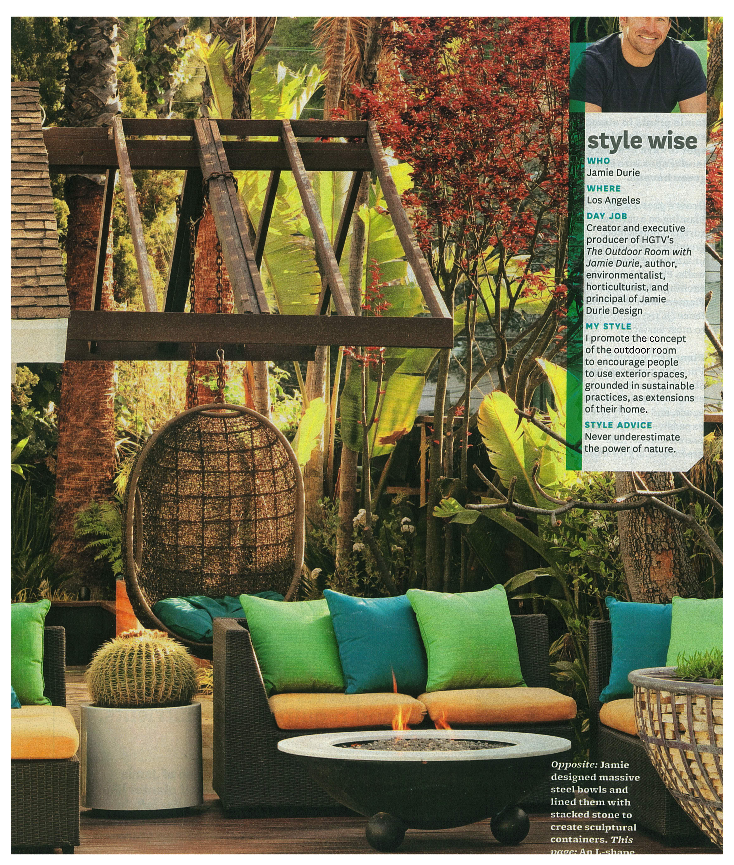 Backyard inspiration jamie durie you 39 re so martha for Jamie durie garden designs