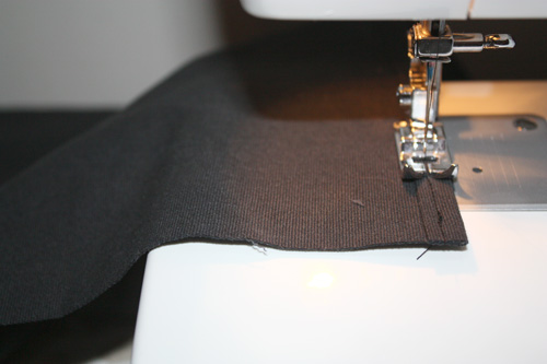 sew along edge