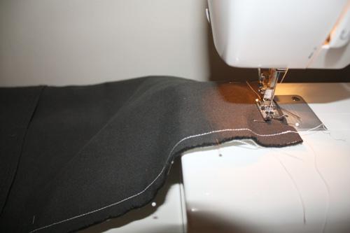 sew around