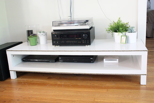 tv console table refreshed ahhh you 39 re so martha. Black Bedroom Furniture Sets. Home Design Ideas