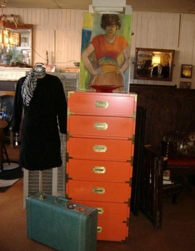 orange campaign dresser