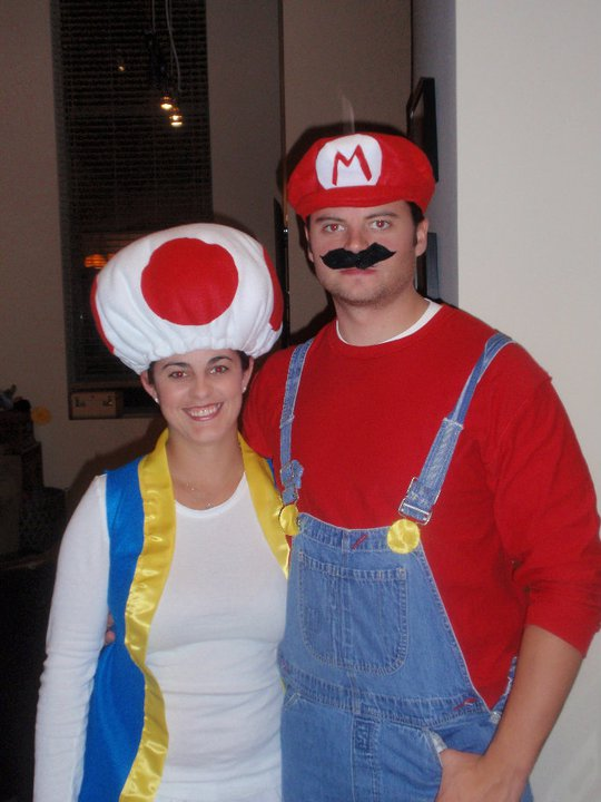 toad and mario