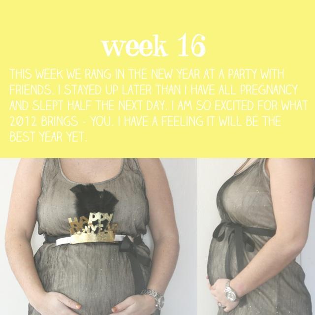 week 16 bump
