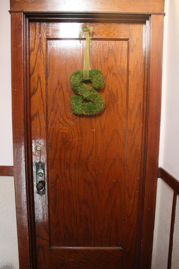 s on door