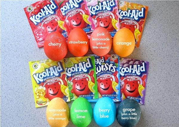kool aid eggs