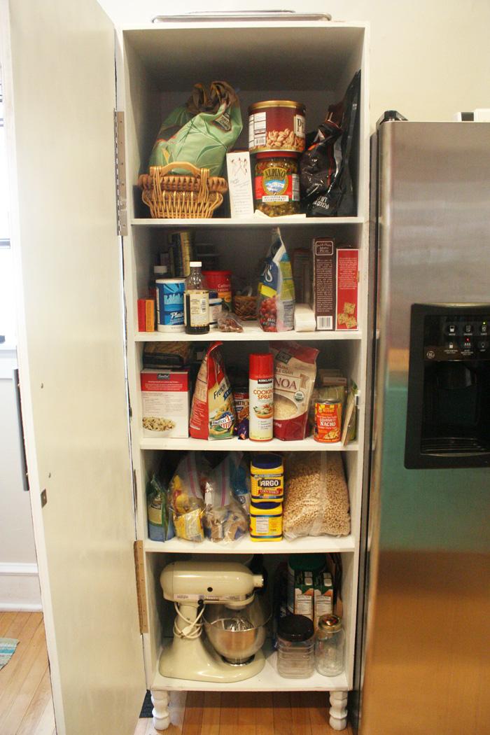 Diy kitchen pantry you 39 re so martha for Kitchen pantry photos
