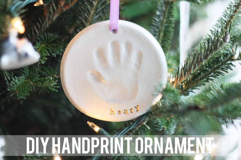 Handprint ornament diy youre so martha diy handprint ornament solutioingenieria Gallery