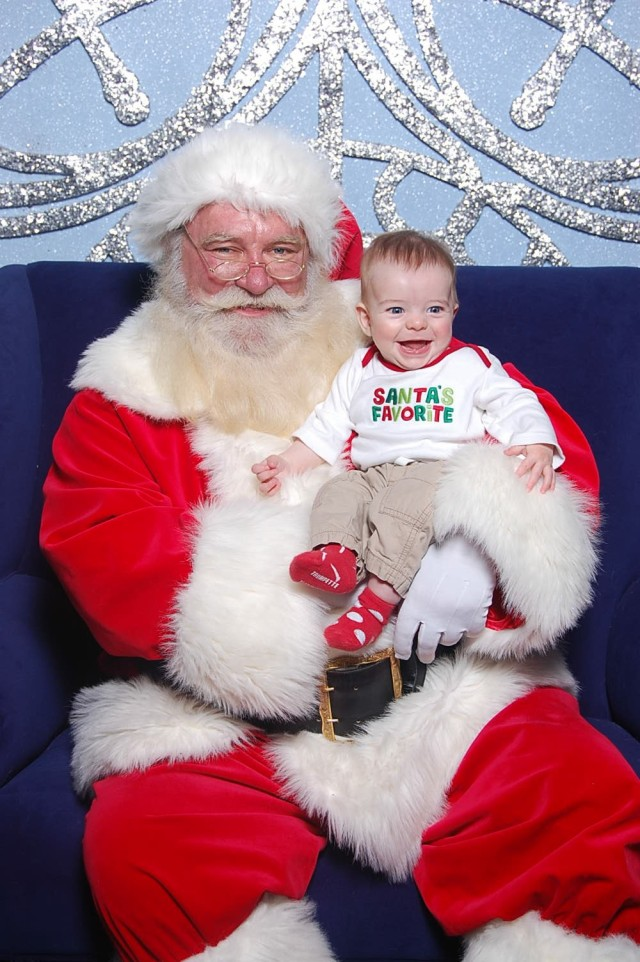 Henry and Santa