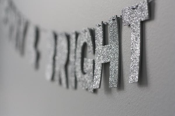 glitter bright
