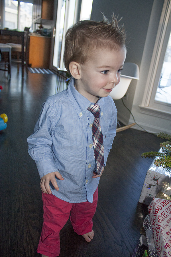 Henry christmas outfit 2