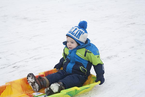 henry sledding
