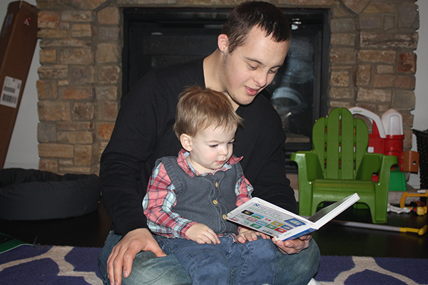jarrett reading to henry