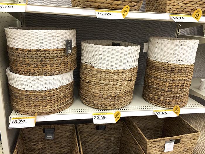 baskets. Target Goodies   you re so martha