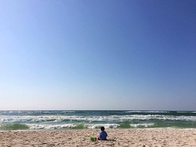 henry beach sky