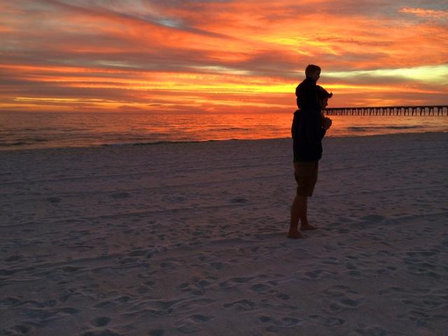 sunset shoulders