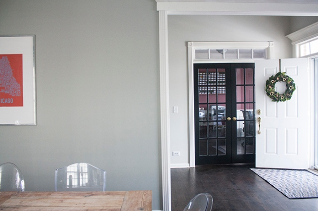 dining room to door