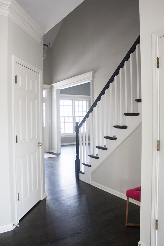 hallway to front door