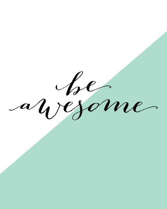 be-awesome_colorblock_mint_listing